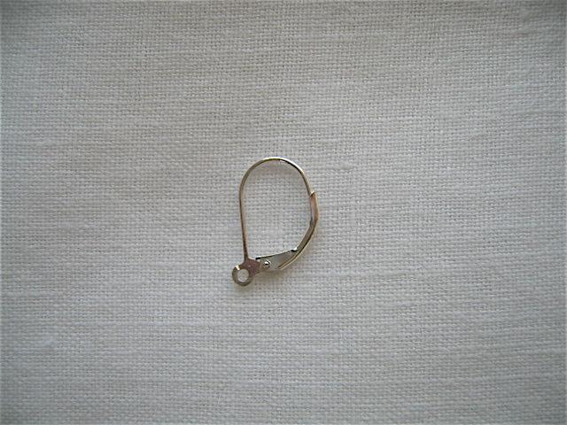 画像1: SV925フレンチフックピアス金具